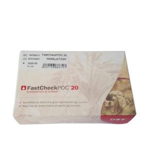 Test rapido FastcheckPOC 20 Inhalation